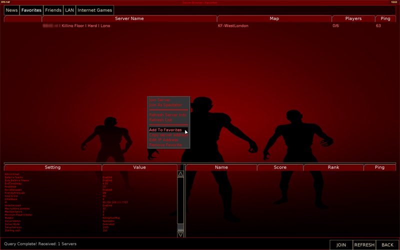 How Do I Connect To My Killing Floor Server Inx Game Servers Blog